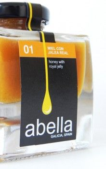 Abella Honey with Royal Jelly  This would definitely make it into my #foodieslarder.