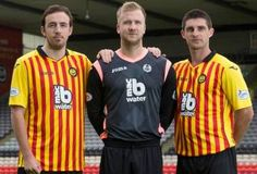 Partick Thistle FC 2014/15 Joma Home Kit