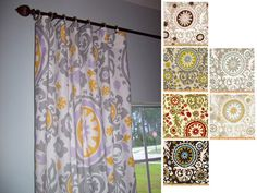 Your place to buy and sell all things handmade Curtain Panels, Panel Curtains, Wide Curtains, Patio Doors, Drapery, Curtain Ideas, Living Room, Basement, Decor Ideas