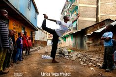 """Building Inner Peace: Yoga's transformative effect on peacebuilding efforts in war-torn societies. ~ Simone Datzberger ~ """"Practising yoga in Africa not only brings about new challenges but also gains an entirely new dimension..."""""""