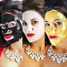 3 Day Skin Detox with Collagen Masks and Serum. Nourishes skin while ridding it of impurities.