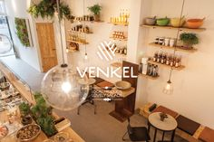 Local Products & Lovely Salads at Venkel Amsterdam. #food #shop