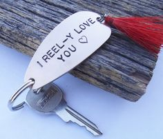 Gift for Special Valentine Boyfriend New by CandTCustomLures