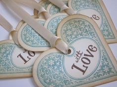 Wish tree tags/wedding tags/gift tags  by anistadesigns IDEAS: Wedding Gift Tags. Wedding Directory-UK {WDUK}  Personalized wedding tags for  Wedding Favours, Chairs, Wishing Trees, Guest Books or just Wedding Gifts