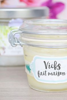 Vicks homemade for colds and bronchitis- Vicks fait maison pour rhumes et bronchites Vicks homemade for bronchitis and other winter fun – Peppermint Beauty, natural beauty - Vicks Vaporub, Vicks Rub, Diy Beauté, Magical Makeup, Handmade Cosmetics, Natural Cosmetics, Winter Fun, Natural Healing, Peppermint
