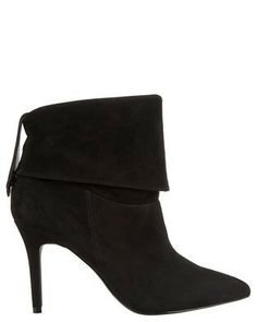 Sachi Georgie Guessing Boots Black Suede