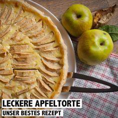 Herbstzeit - Apfelzeit! Und was ist besser als eine hausgemachte Apfeltorte!? Das Rezept für unsere leckere Apfeltorte findet ihr auf www.rosportlife.com