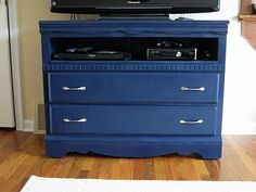 recycle old dresser (with pretty paint job)