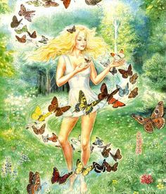 """The Dance with Butterflies"" by Aleksander Razboinikov"