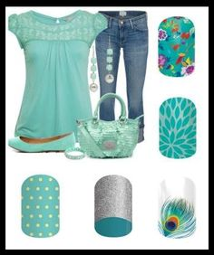 Jamberry Teal Nail Art selections, which one do you like best, spring polish or wrap ideas? Go to jamswithkara.jamberrynails.com