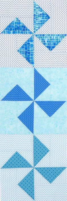 Pinwheels Table Runner