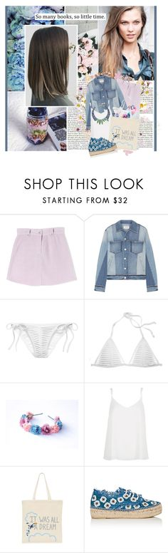 """""""We were not born in sin, leave a note on your bed let your mother know you're safe"""" by winfreda ❤ liked on Polyvore featuring Whiteley, Chanel, Frame, Victoria's Secret, River Island, Zhuu, Loeffler Randall and Gemma Redux"""