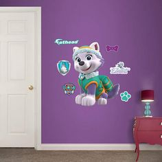 Fathead Paw Patrol Everest Jr Wall Decal - Wall Sticker Outlet