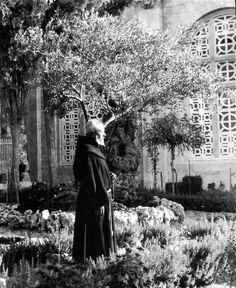 #OldPhoto of #Monk in #Bethlehem, #Palestine; 1800's