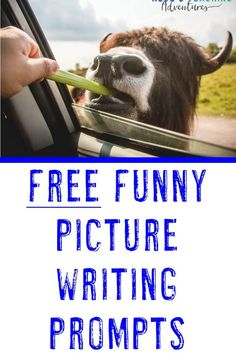 Writing can take a back burner to the more demanding subjects, but its necessary. Focusing on #writing doesnt have to take a large portion of the school day, even with just five minutes, you can create a fun experience for second, third, fourth, fifth, sixth, seventh, or eight graders. These funny picture writing prompts are the perfect solution to creating assignments that 2nd, 3rd, 4th, 5th, 6th, 7th, or 8th graders want to do. FREE downloads! #WritingPrompts #FunnyPictureWritingPrompts