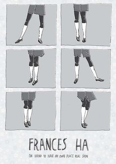 Mary's Movieposters: Frances Ha | Cineville