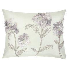 Laura Ashley Althea Silk Cushion Amethyst