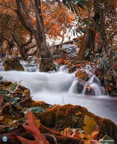 Η φθινοπωρινή Ελλάδα μέσα από 26 υπέροχα τοπία! Waterfall, Outdoor, Outdoors, Waterfalls, Outdoor Games, The Great Outdoors