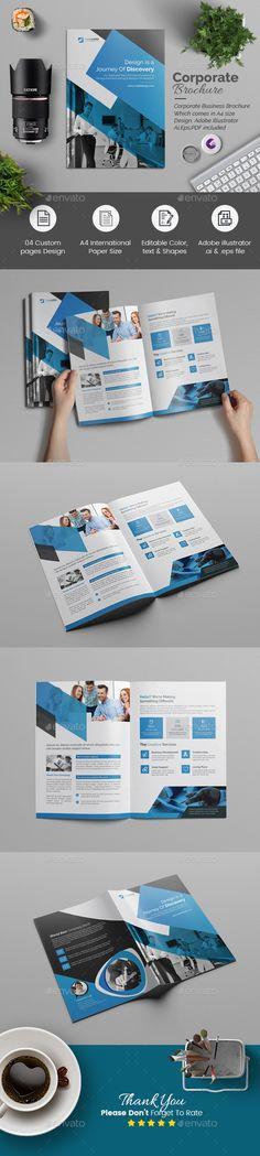 Bi fold Multipurpose Brochure - Corporate Brochures  Download here: https://graphicriver.net/item/bi-fold-multipurpose-brochure/21657808?s_rank=11&ref=wildhan532
