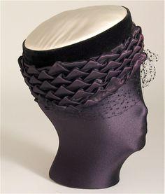Vintage hat by Schiaparelli.