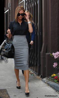 Деталь гардероба - юбка-карандаш / юбка с высокой талией