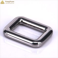 The rectangle ring hardware buckleshavesilver color, there areperfect for making your adjustable straps, such as suspenders, backs of vest. It…