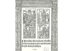 Retablo vida Cristo-Padilla-Miguel de Eguía-Alcalá de Henares. Incunables y Libros Antiguos. Vicent García Editores. FACSÍMILES desde1974 / FACSIMILE Ed since 1974. Tel:(+34)963691589 - Valencia (Spain) - vgesa@combios.es - EnglishWebsite: http://www.vgesa.com/facsimile-retablo_vida_cristo-padilla.htm