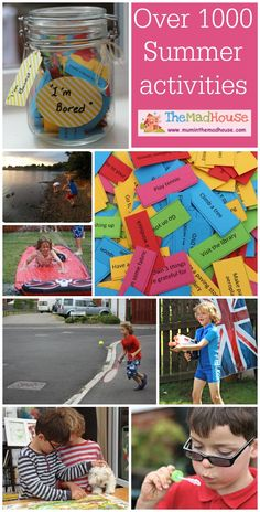 Over 1000 activities for over the summer