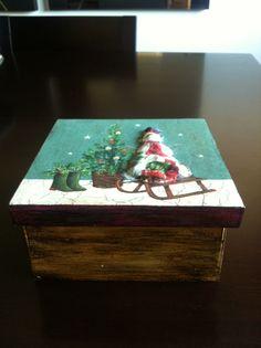 Caixa bombons natal
