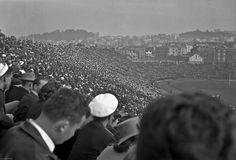 Kezar Stadium 1943 49ers Players, Past Life, Dolores Park, San Francisco, Fans, Tours, Football, Cathedrals, History