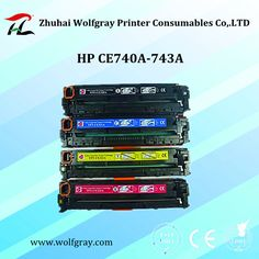 Compatible for HP CE740A-743A toner cartridge,bring you different printing effect.