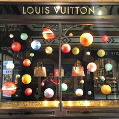 Louis Vuitton Window
