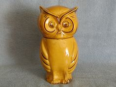 Owl Cookie Jar Holiday Designs Very Rare by SandECollectibles