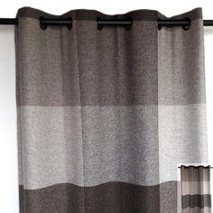 Rideau 100% laine organique recto-verso