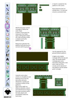 2D Game Art for Programmers: Complete game - platforms