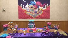 Shimmer and Shine Birthday Party Ideas | Photo 7 of 10