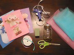 ItsMommysChoice: DIY birthday centerpieces *Doc Mcstuffins theme
