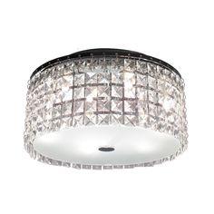 Shop Bazz Lighting Pl3413cc Glam Cobalt Flush Mount Ceiling Light At Atg Stores Browse Our