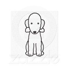 Bedlington Terrier Wrapped Canvas Canvas Prints
