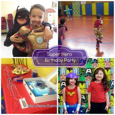 How to Throw a Easy Super Hero Themed Birthday Party |The Mama Maven Blog…