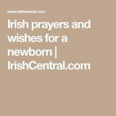 Irish prayers and wishes for a newborn | IrishCentral.com