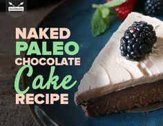 Naked Paleo Chocolate Cake