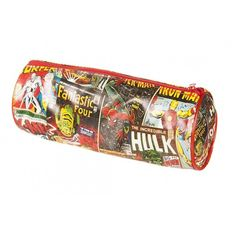 Marvel Comic Strip Pencil Case (€7,95) ❤ liked on Polyvore featuring home, home decor, office accessories, pencil case, marvel, marvel pencil pouch and marvel pencil case