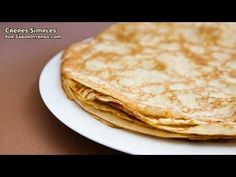 How to make crepes. Great simple to follow video. (originally in Italian)