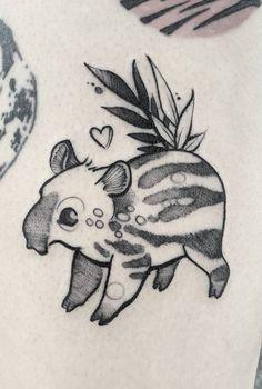 Fuki Fukari ink tapir tattoo