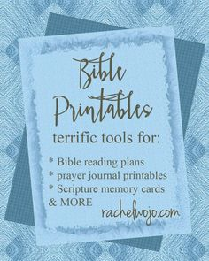 Bible reading plans for ALL AGES! Prayer Journal Printables, games,Scripture memory cards AND MORE!