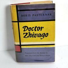 Items similar to Doctor Zhivago Boris Pasternak First Ed Impression 1958 UK HC DJ on Etsy Doctor Zhivago, Dr Zhivago, French Cartoons, Jane Austen Books, First Doctor, Serenity Prayer, Rainbow Brite, Needlepoint Kits, Book Binding