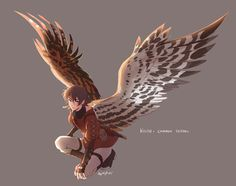 Okay I know this is Keith but that's what Autum's wings look like