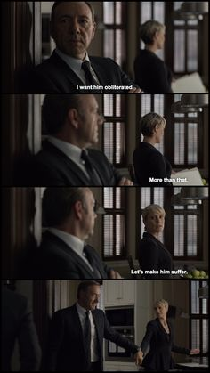 Frank and Claire Underwood. House of Cards.