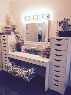 Beauty room makeup rooms, makeup room decor, walk in closet inspiration, . Makeup Room Decor, Makeup Rooms, My New Room, My Room, Walk In Closet Inspiration, Vanity Room, Bath And Beyond Coupon, Beauty Room, Decoration